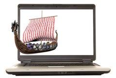 Laptop Viking Stock Images
