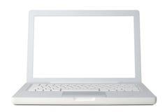 Laptop voorzijde Stock Afbeelding