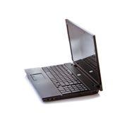 Laptop  on white Stock Photos