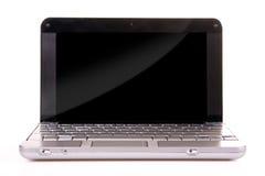 Laptop on white Royalty Free Stock Photos
