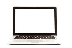 Laptop  on white Stock Photo