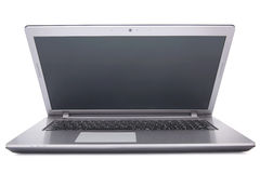Laptop  on white background Royalty Free Stock Photos