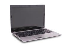 Laptop on white Royalty Free Stock Image
