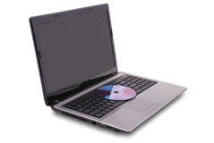 Laptop on white Stock Photo