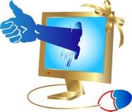 Laptop win Royalty Free Stock Photo