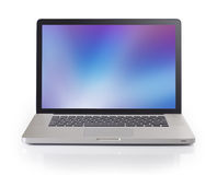 Laptop With 3 Precise Clipping Paths Stock Photo