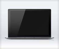 Laptop With Black Screen. Stock Photos