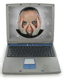 Laptop Woman Royalty Free Stock Image