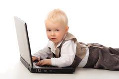 Laptop Work Royalty Free Stock Photos