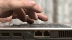 Laptop work stock video footage