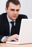 laptop working Στοκ εικόνα με δικαίωμα ελεύθερης χρήσης