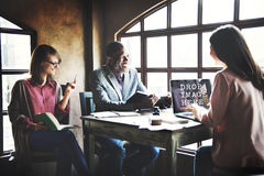 Laptop Working Meeting Technology Commercial Copy Space Concept.  Royalty Free Stock Images