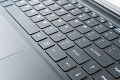 Laptop z dotyka parawanowym trybem Zdjęcie Royalty Free