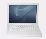 laptopa ścinku ścieżki white Fotografia Royalty Free