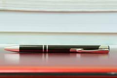 laptopa długopis Obrazy Stock