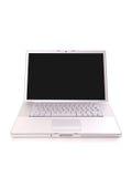 laptopa srebra Obrazy Royalty Free