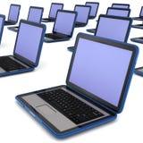 Laptope Lizenzfreie Stockfotografie