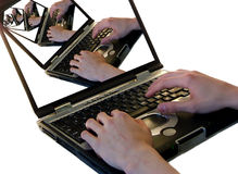 Laptope Stockfotografie