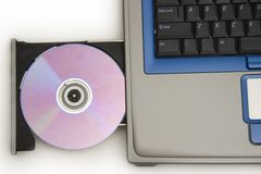 Laptoplaufwerk Lizenzfreies Stockfoto