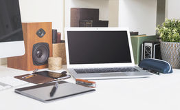 Laptopmodell Stockbild