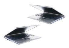 Laptops. Isolated on White Background royalty free stock photos
