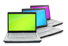 Laptops Stock Photo
