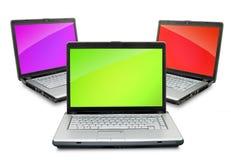 Laptops royalty free stock photography