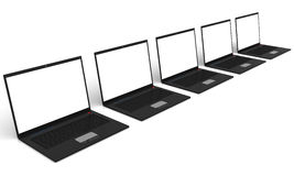Laptops Royalty Free Stock Photos