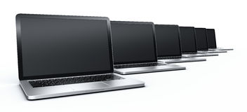 Laptops Royalty Free Stock Image