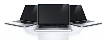 Laptops Royalty Free Stock Images