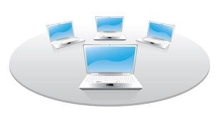 Laptops Stock Image