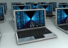 Laptops Stock Photos