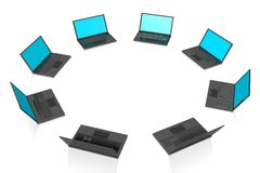laptops concept... Stock Images