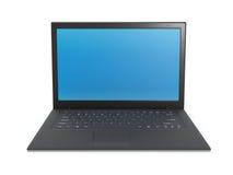 Laptopschwarzes stock abbildung