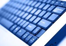 Laptoptastatur Lizenzfreies Stockfoto