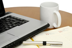 laptopu biuro Obraz Stock