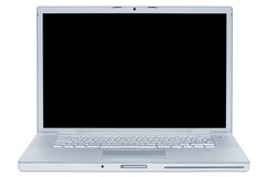 laptopu elegancki nowożytny Obraz Royalty Free