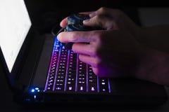 Laptopu hazard obrazy stock
