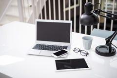 Laptopu mockup zdjęcie stock