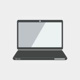 laptopu płaski projekt, seo projekt, dolarowy seo projekt Fotografia Royalty Free