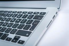 Laptopu port łączy Obrazy Royalty Free