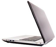 Laptopu widok tylni Zdjęcia Royalty Free