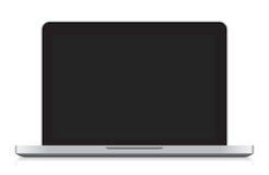 Laptopvektor Lizenzfreies Stockfoto