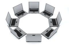 laptopy ilustracja wektor