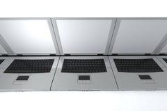 laptopy royalty ilustracja