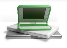 laptopy stack Zdjęcia Stock