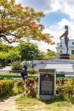 Lapu lapu statue at Rizal Park, Manila. Philippines stock image