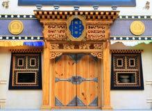 Lapuleng, ένα νυχτερινό κέντρο διασκέδασης θιβετιανός-ύφους Στοκ εικόνα με δικαίωμα ελεύθερης χρήσης
