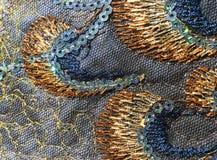 Lapwerkachtergrond met onwaarschijnlijke kleuren en abstract effect Stock Foto