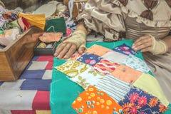 Lapwerkproces Vakmanschap en artisans royalty-vrije stock afbeeldingen